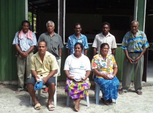 Participants of the Nukuria training course.